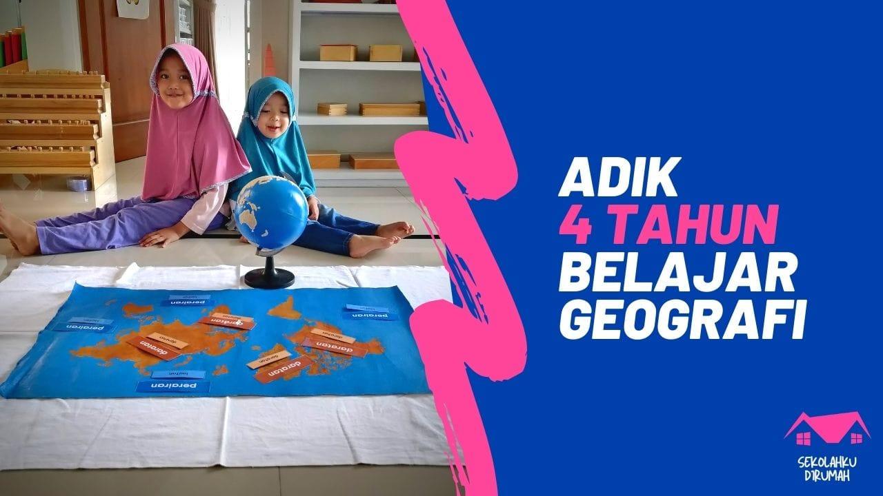 Pengenalan Geografi Untuk Anak Usia Dini